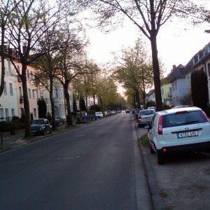 Blick auf die Preußenstraße