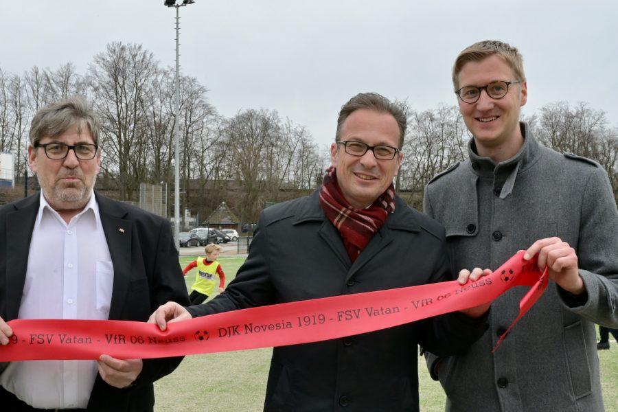 Eröffnung Jahnstadion